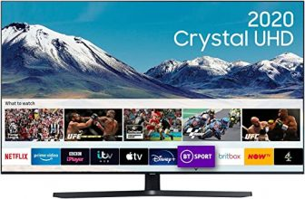 Samsung 43″ TU8500 Dynamic Crystal Colour HDR Smart 4K TV with Tizen OS