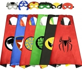 WIKI Cool Cartoon Super Hero Capes for Kids – Best Gifts